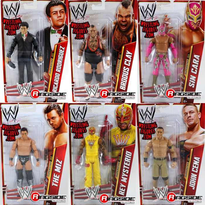 Wwe Series 34 Complete Set Of 6 Ringside Collectibles
