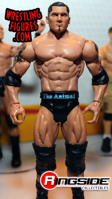 Batista 2014 Tattoos Mattel WWE Series 37 |...