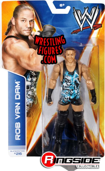 Wwe Girl Toys : Rob van dam rvd wwe series toy wrestling action