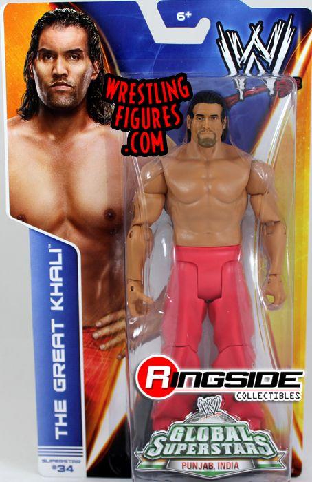 Great Khali Wwe Series 40 Wwe Toy Wrestling Action