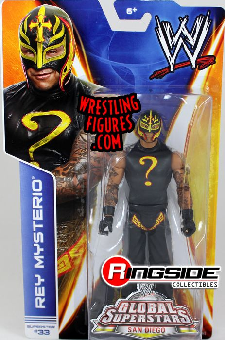 Rey Mysterio Wwe Series 40 Ringside Collectibles