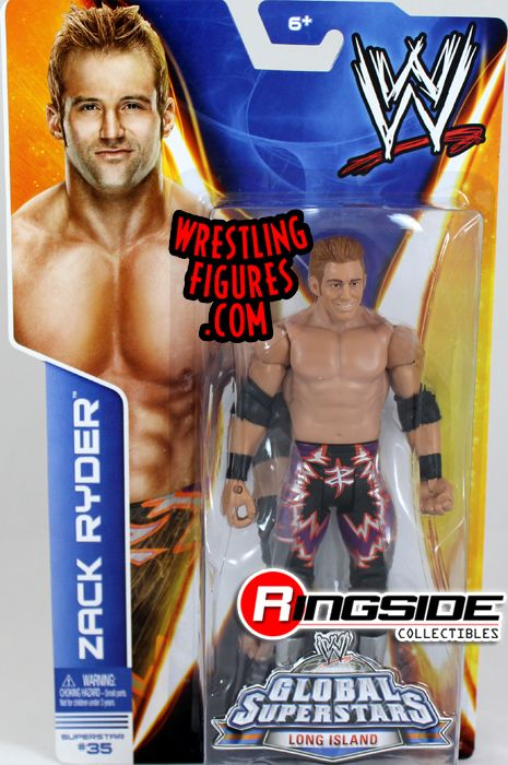 Zack Ryder Wwe Series 40 Ringside Collectibles