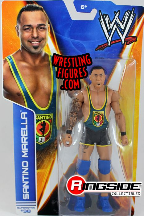 Santino Marella Wwe Series 41 Wwe Toy Wrestling Action