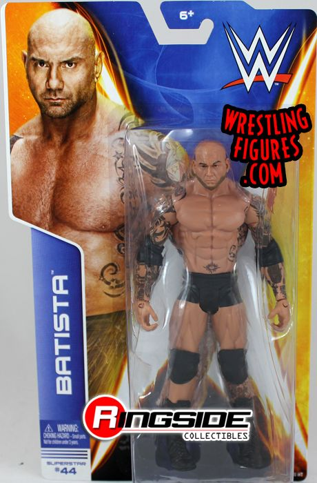 Batista Wwe Series 42 Wwe Toy Wrestling Action Figure By