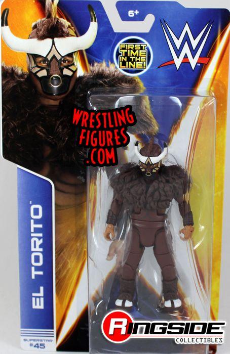 El Torito Wwe Series 42 Wwe Toy Wrestling Action Figure