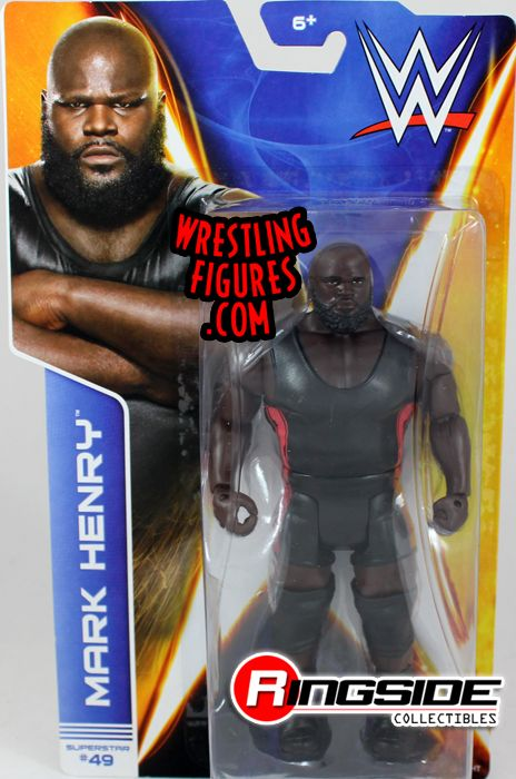 Mark Henry Wwe Series 43 Wwe Toy Wrestling Action Figure
