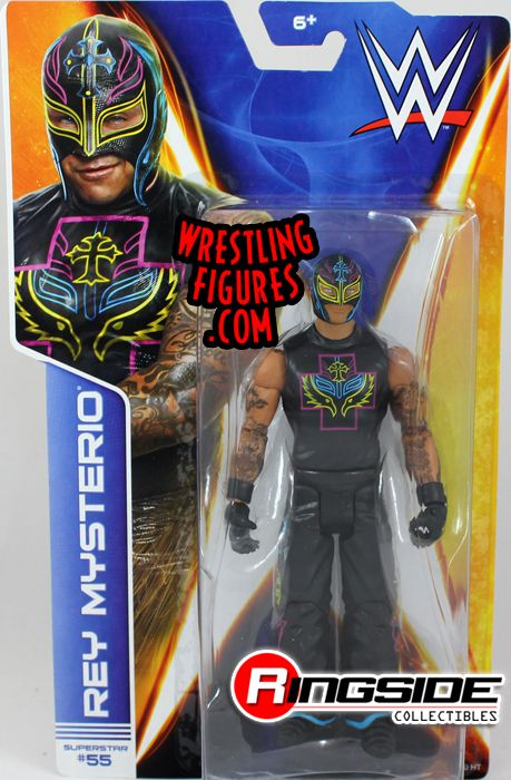 Rey Mysterio - WWE Series 43 WWE Toy Wrestling Action ...