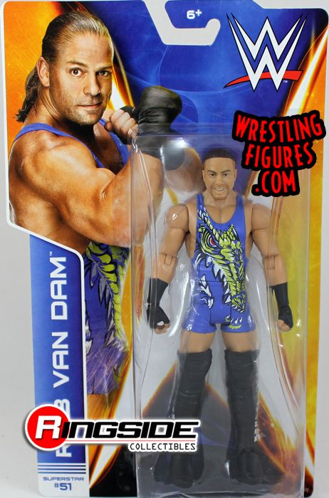 Rob Van Dam Rvd Wwe Series 43 Wwe Toy Wrestling Action