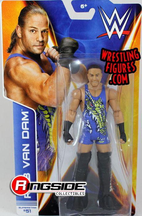 Rob Van Dam Rvd Wwe Series 43 Wwe Toy Wrestling Action