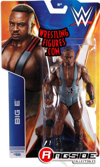 Big E Langston Wwe Series 44 Wwe Toy Wrestling Action