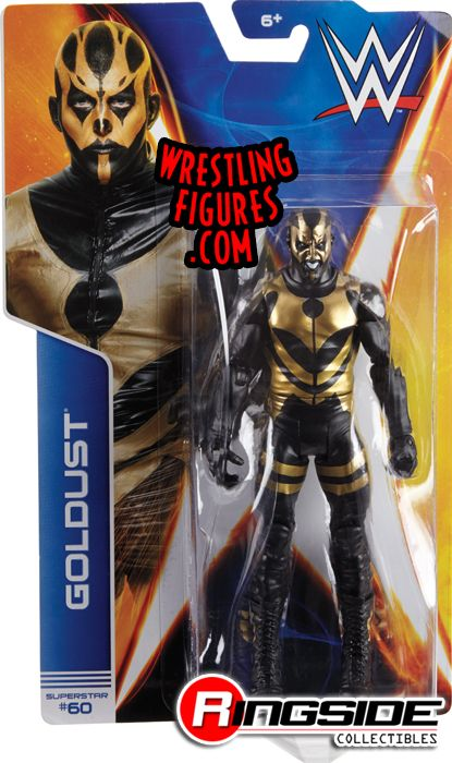 Goldust Wwe Series 44 Wwe Toy Wrestling Action Figure By