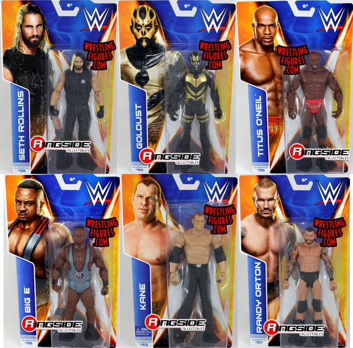 Wwe Series 44 Complete Set Of 6 Wwe Toy Wrestling Action