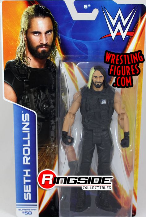 Seth Rollins Wwe Series 44 Wwe Toy Wrestling Action