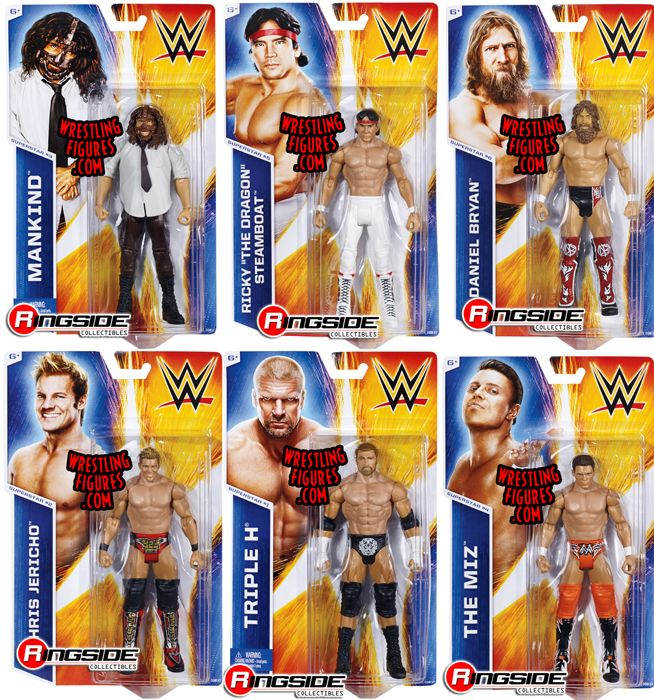 Wwe Series 45 Complete Set Of 6 Wwe Toy Wrestling Action
