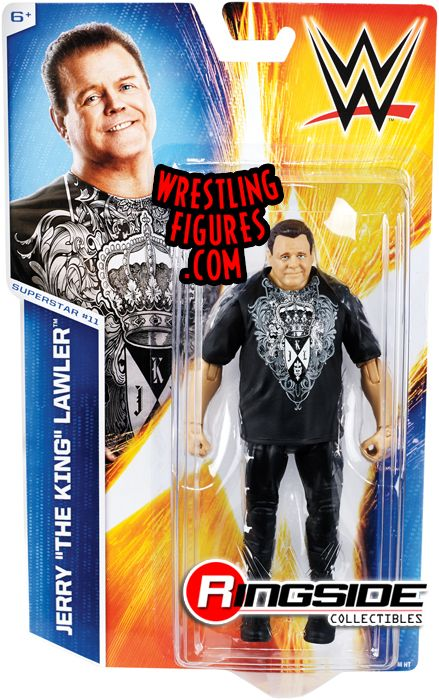 Jerry Lawler Wwe Series 46 Wwe Toy Wrestling Action