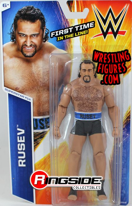 Rusev Wwe Series 47 Wwe Toy Wrestling Action Figure By