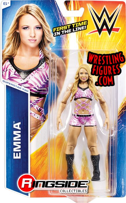Wwe Girl Toys : Emma wwe series toy wrestling action figure by mattel