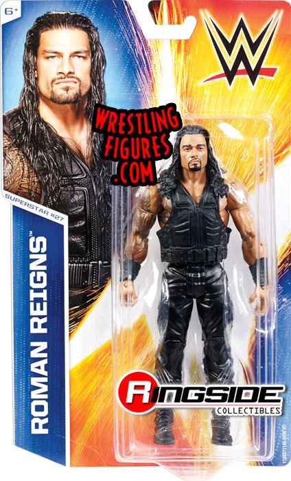 Roman Reigns Wwe Series 49 Wwe Toy Wrestling Action