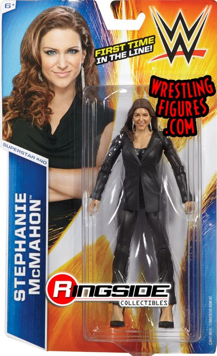 Stephanie Mcmahon Wwe Series 51 Wwe Toy Wrestling Action