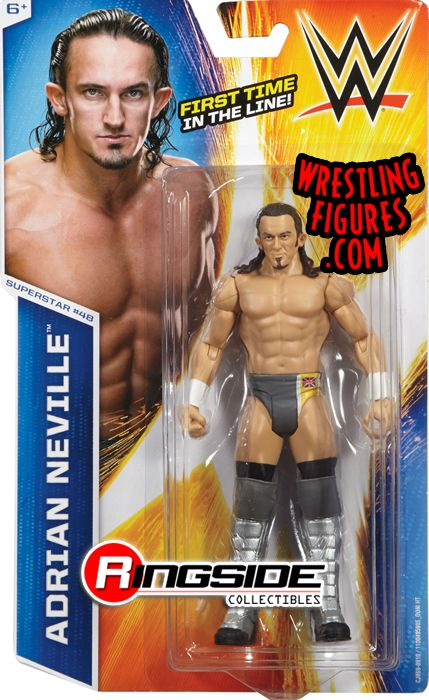 Wwe Girl Toys : Adrian neville wwe series toy wrestling action