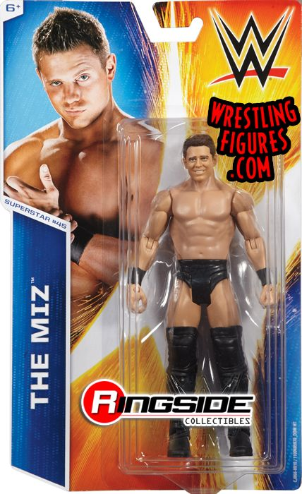 The Miz Wwe Series 52 Wwe Toy Wrestling Action Figure By