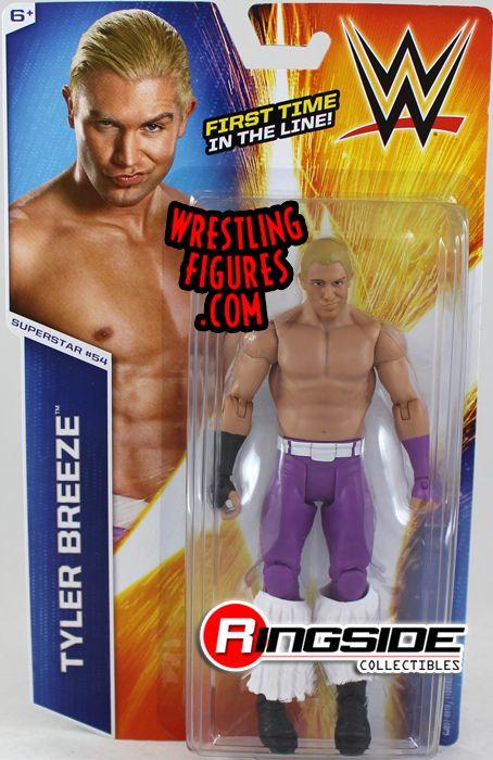 Tyler Breeze Wwe Series 53 Wwe Toy Wrestling Action