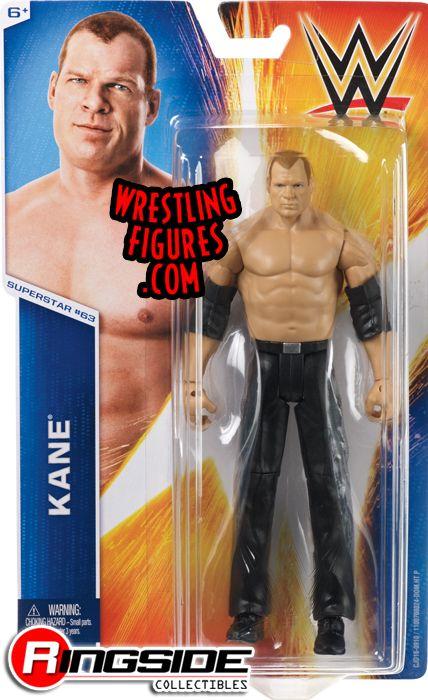 Kane Wwe Series 55 Wwe Toy Wrestling Action Figure By Mattel