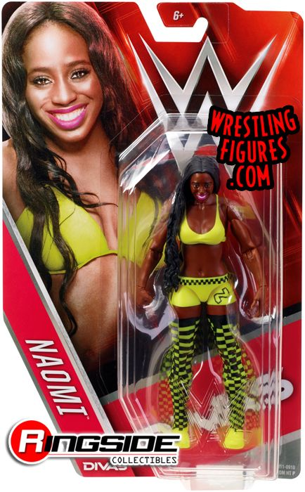 Naomi Wwe Series 56 Wwe Toy Wrestling Action Figure By