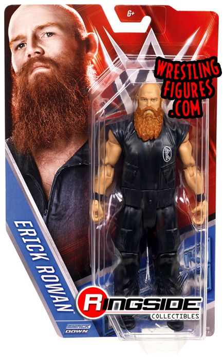 Erick Rowan Wwe Series 57 Wwe Toy Wrestling Action