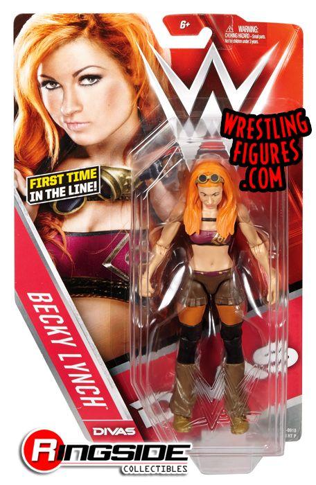 Becky Lynch Wwe Diva Wwe Series 62 Wwe Toy Wrestling