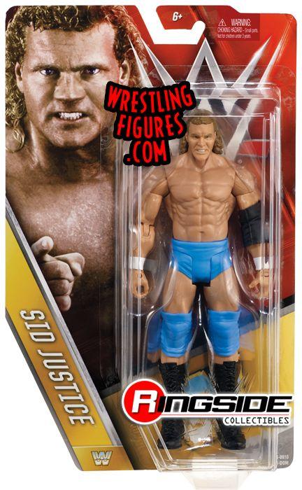 Sid Justice Sycho Sid Wwe Series 63 Wwe Toy Wrestling