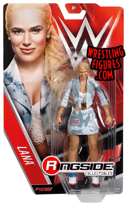 Lana Wwe Series 64 Wwe Toy Wrestling Action Figure By