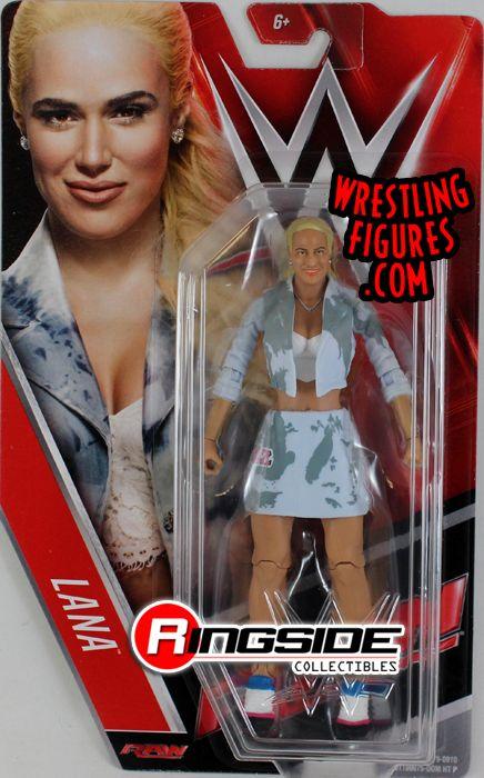 WWE Mattel Basics 64 Lana Wrestling Figure