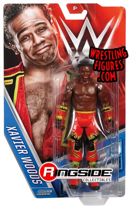 Xavier Woods New Day Wwe Series 64 Wwe Toy Wrestling