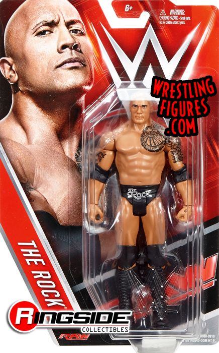 The Rock Wwe Series 65 Wwe Toy Wrestling Action Figure
