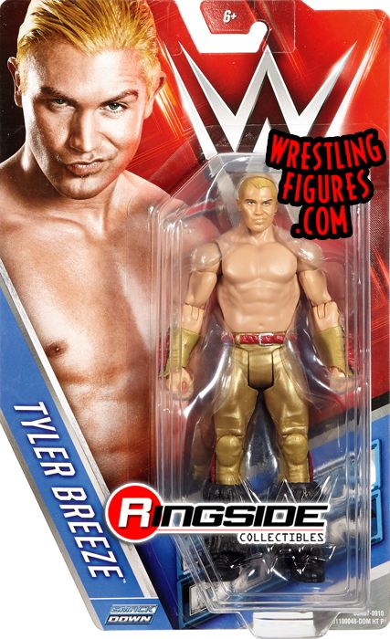 Tyler Breeze Wwe Series 66 Wwe Toy Wrestling Action