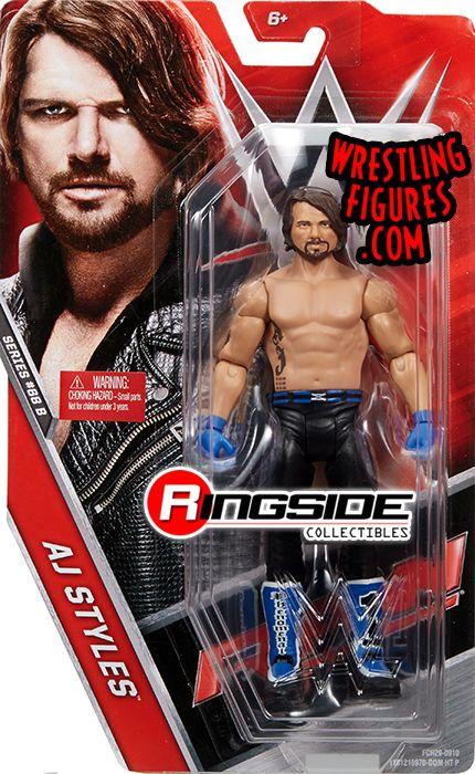 Aj Styles Wwe Series 68 5 Wwe Toy Wrestling Action