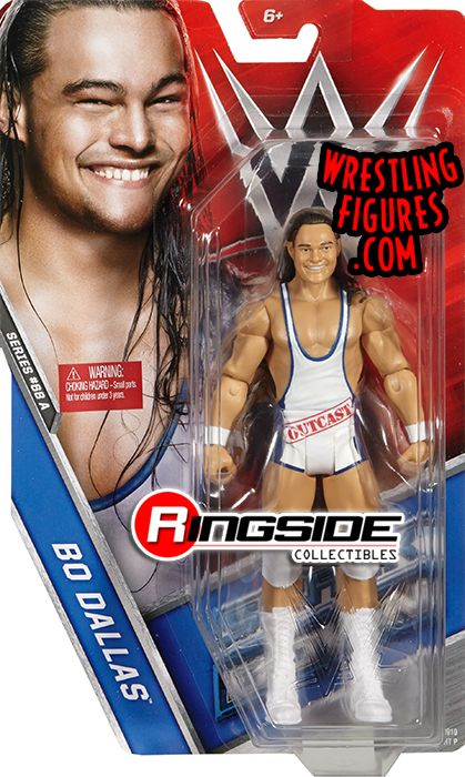Bo Dallas Wwe Series 68 Wwe Toy Wrestling Action Figure