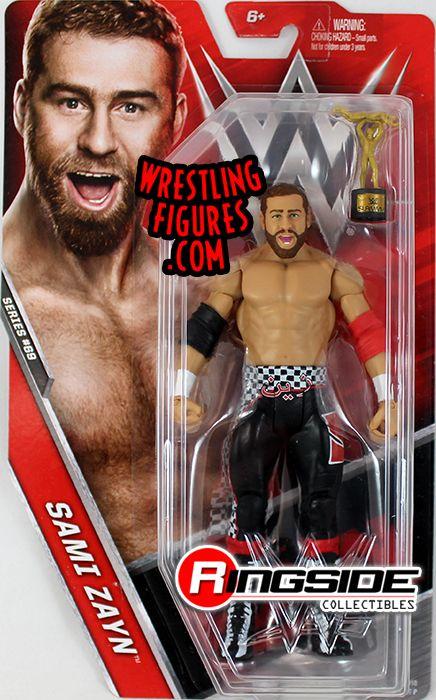 Basic Series 69 Sami Zayn WWE Mattel Wrestling figure