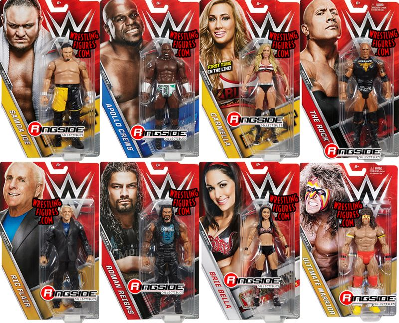 Wwe Series 70 Toy Wrestling Action Figures By Mattel This