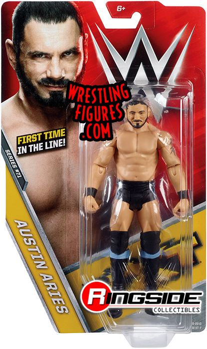 WWE AUSTIN ARIES BASIC 71 NXT WRESTLING FIGURE MATTEL ACTION BRAND NEW