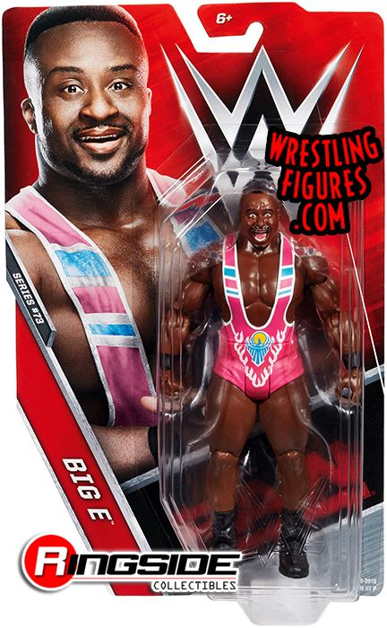 Big E New Day Wwe Series 73 Wwe Toy Wrestling Action