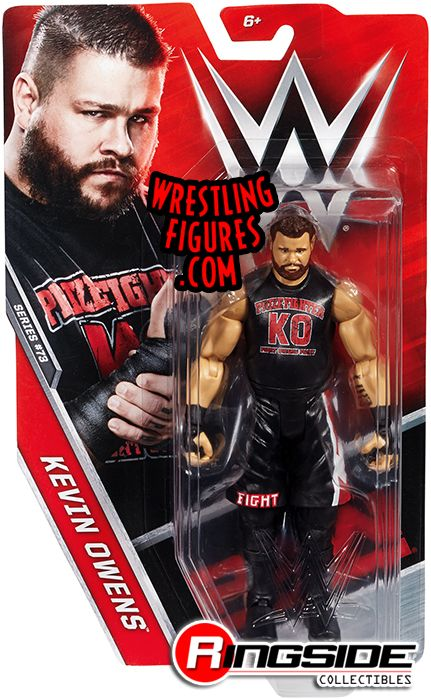 WWE basic 65 kevin owens raw nxt tna ko série wrestling MATTEL action figure