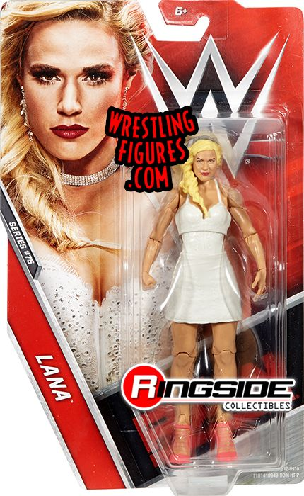 Lana Wwe Series 75 Wwe Toy Wrestling Action Figure By