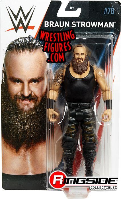 Braun Strowman Wwe Series 78 Wwe Toy Wrestling Action