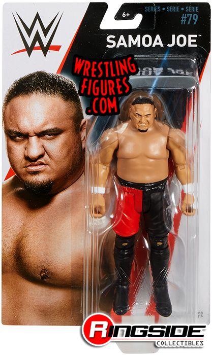 WWE Mattel Samoa Joe NXT Destroyer Exclusive Elite Figure Loose
