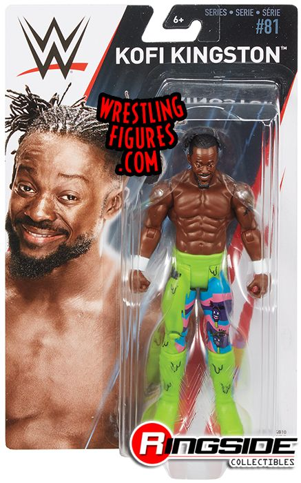 Kofi Kingston New Day Wwe Series 81 Wwe Toy Wrestling