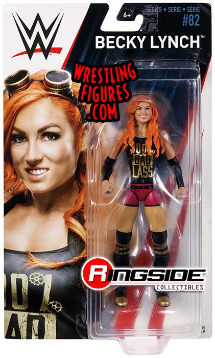 Becky Lynch Wwe Series 82 Wwe Toy Wrestling Action