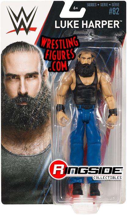Luke Harper Wwe Series 82 Wwe Toy Wrestling Action