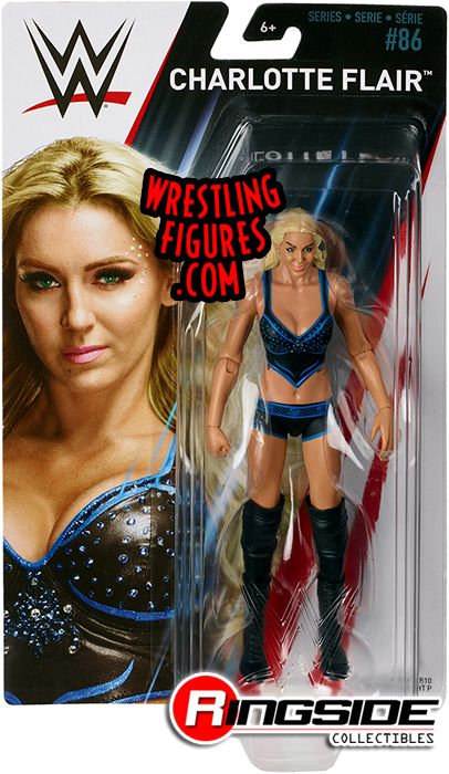 Charlotte Flair Wwe Series 86 Wwe Toy Wrestling Action